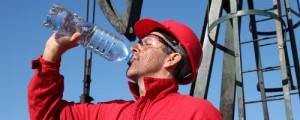 Agua en el trabajo